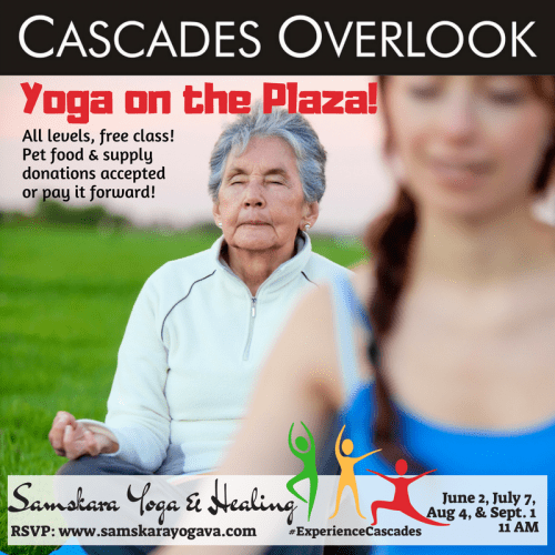 Yoga on the Plaza! Cascades Overlook Sterling