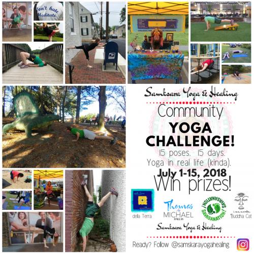Community Yoga Challenge Samskara Yoga