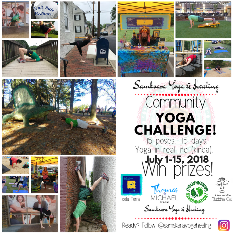 Community Yoga Challenge IG Square