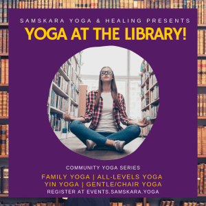 Yoga at the library loudoun cascades sterling rust leesburg