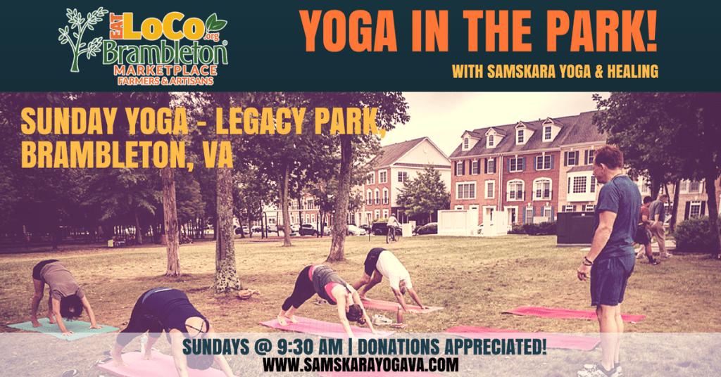 yoga in the park brambleton