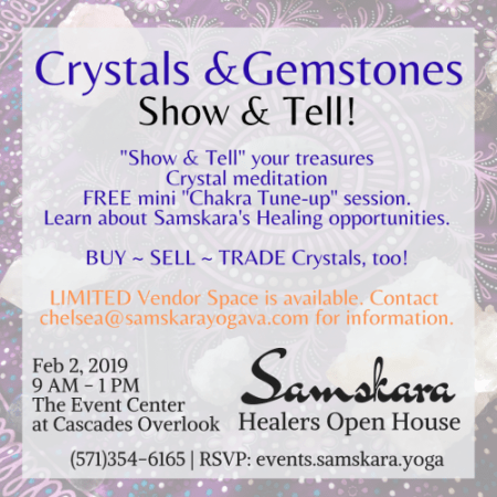 Feb Crystals Healers Open House