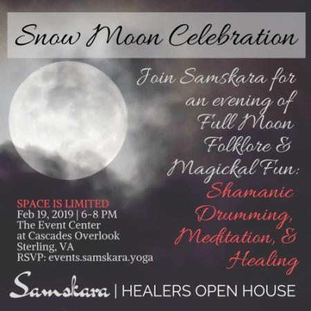 Feb Full Moon Samskara Healing Dulles Ashburn Sterling Herndon