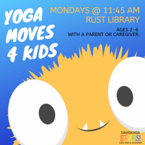 Yoga Moves Rust Library Kids Yoga