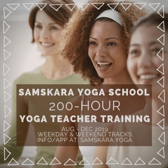 Yoga teacher training samskara ashburn dulles sterling loudoun