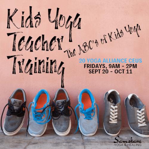 Samskara Kids Yoga Teacher Training CEU Module Dulles Ashburn Sterling
