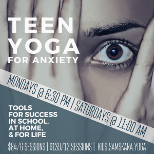 teen yoga for anxiety sterling dulles ashburn herndon chantilly leesburg
