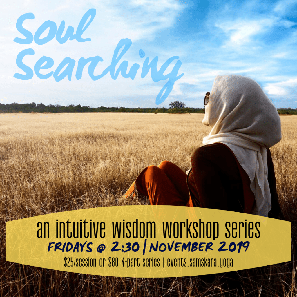 Soul searching intuitive wisdom workshop sterling ashburn dulles leesburg herndon chantilly