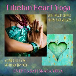 Tibetan Heart Yoga Ahimsa sterling dulles ashburn leesburg herndon chantilly