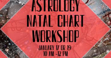 astrology natal chart workshop sterling dulles ashburn herndon leesburg chantilly