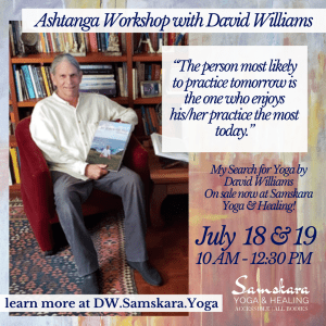 Ashtanga Weekend Workshop with David Williams