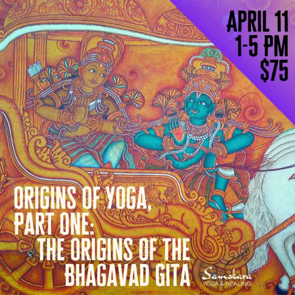 Origins of the Bhagavad Gita workshop dulles ashburn sterling leesburg herndon chantilly