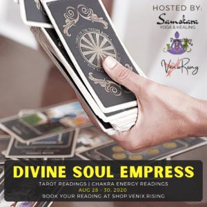 tarot reading divine soul empress venix rising samskara yoga dulles ashburn sterling loudoun