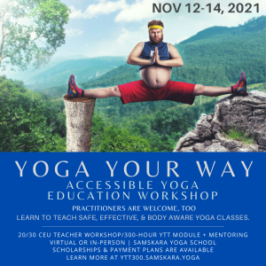 accessible inclusive yoga weekend ceu workshop clarksville ar dulles ashburn sterling va