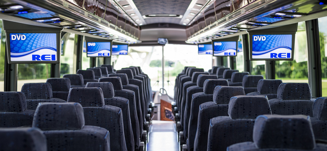 Rent Charter Buses for Group Travel  Sams Limousine