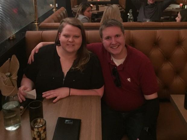 Talia with Amanda Deitch