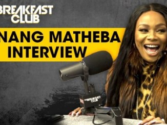 Watch Bonang Matheba's Interview On Breakfast Club