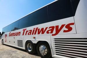 Samson Trailways Luxury Bus