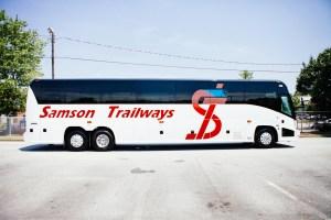 Luxury Bus Side