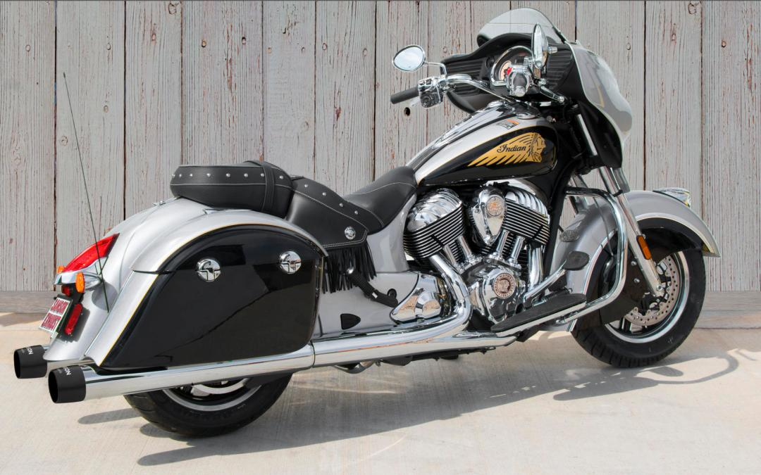 Sturgis Edition Mufflers for Hard Bag Indians