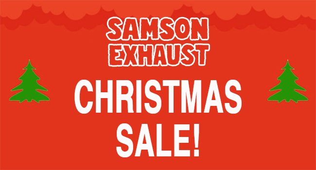 Samson Christmas Specials! 15% Across the Board!