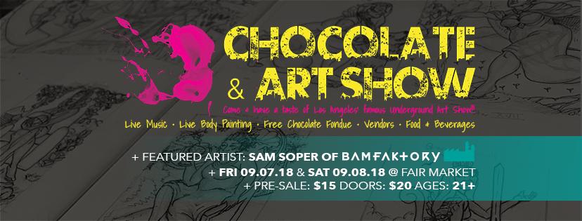 Chocolate & Art Show — Austin