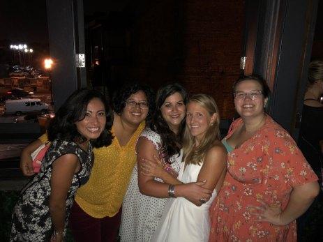 Claudia, Sarah, Lani, Claire & I