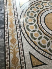 Mosaic floor - Library of Congress