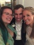The bride & groom, Claire & Adam