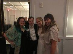 Adam, Claire, Trish & I