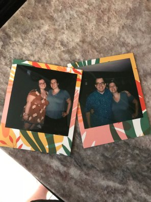 Cass had the cutest polaroids!