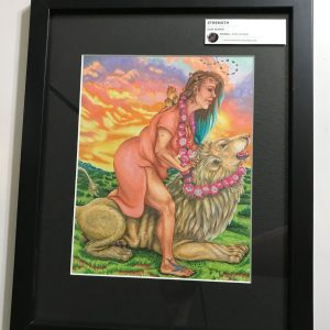 Strength Krystalline Tarot Original