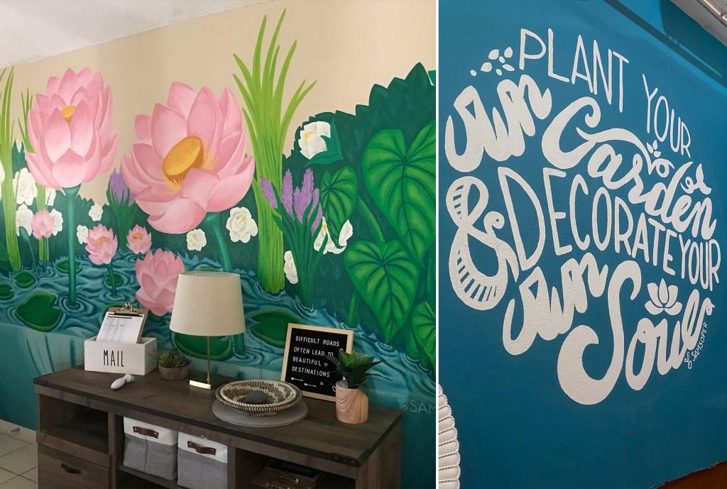 The Murals at Sanctuary Gardens Survivors Home