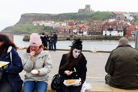 GB. England. Yorkshire. Whitby. Whitby Goth Weekend. 2014.
