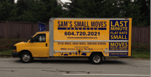 Pick up trucks and one ton cube vans in East Van