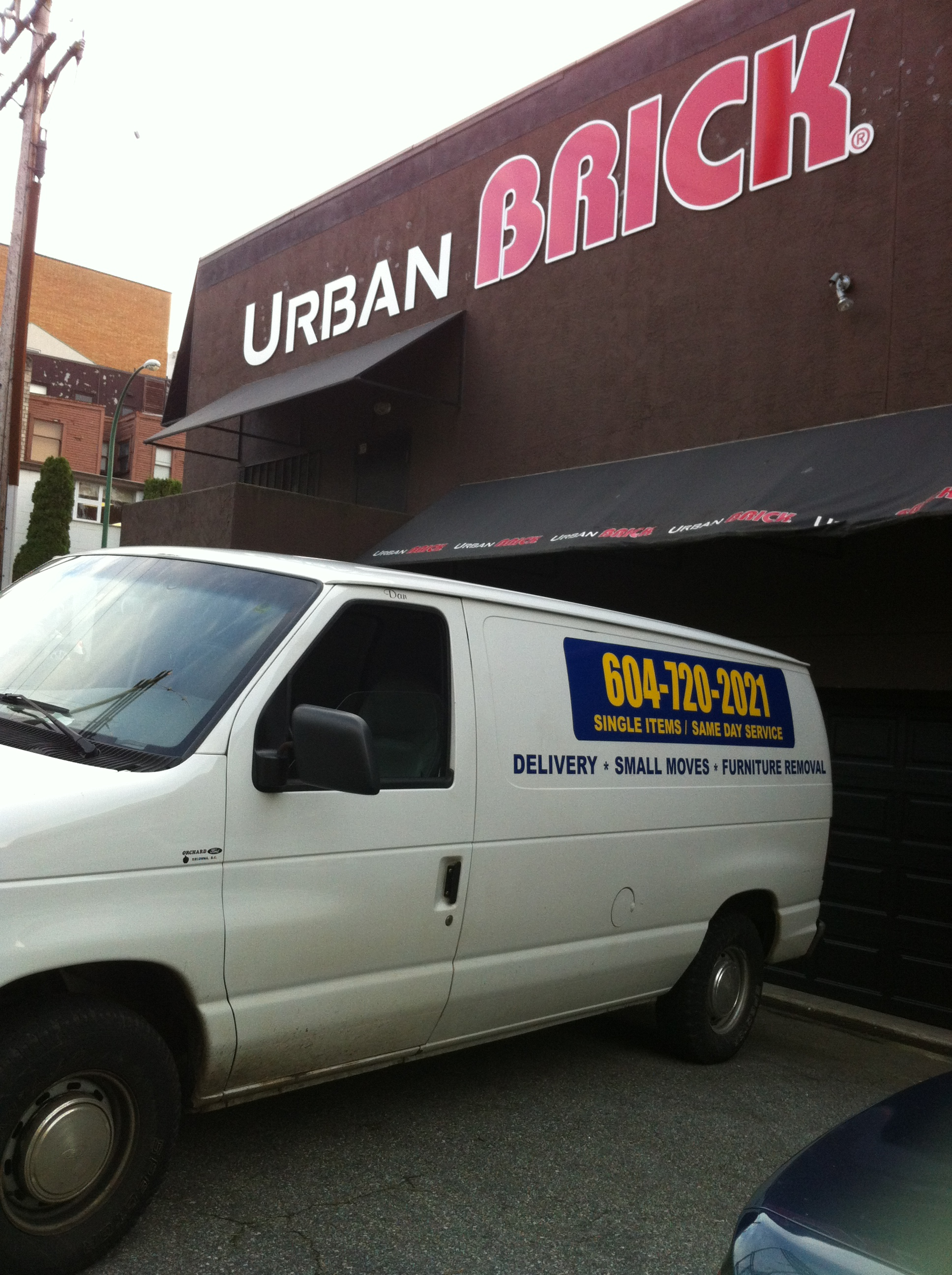 The Urban Brick Delivery In Vancouver Sam S Small Moves
