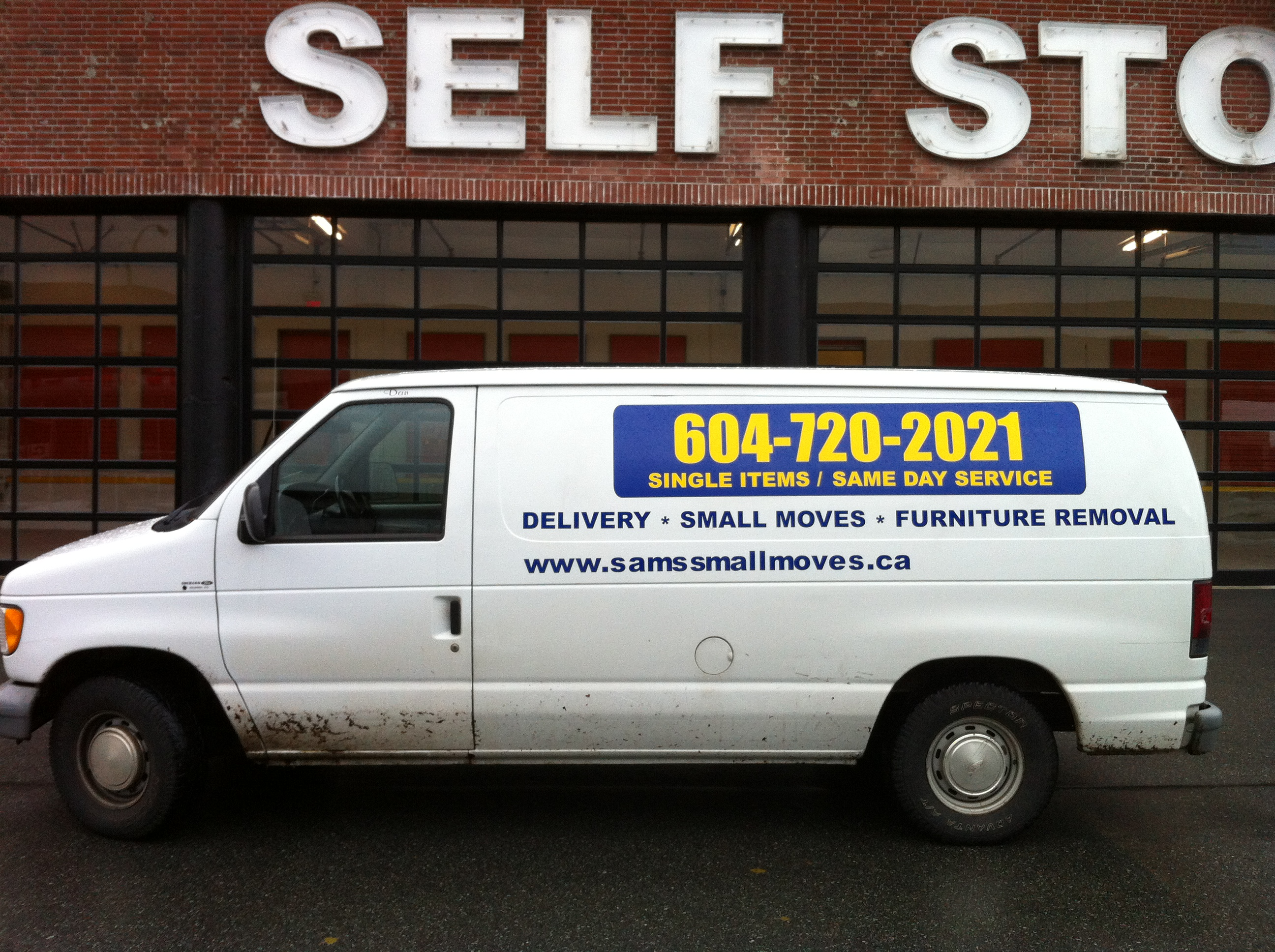 Self storage in 750 terminal ave vancouver sam 39 s small for Does ikea deliver same day