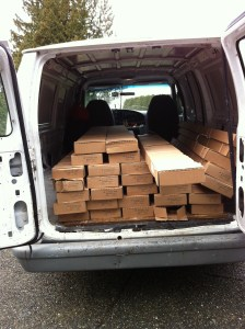Hardwood Flooring - Pick Up & Delivery