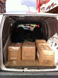 STORES: BIG BOXES PICKUPS AND DELIVERIES