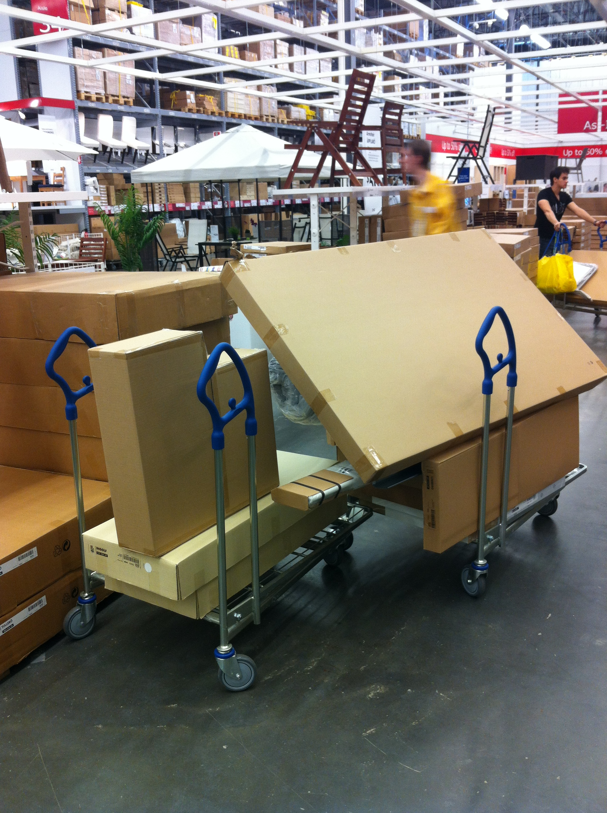 Home delivery service ikea monkey by sam 39 s small moves for Does ikea deliver same day