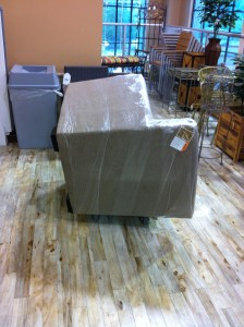 Fabric Sofa Chair Delivery