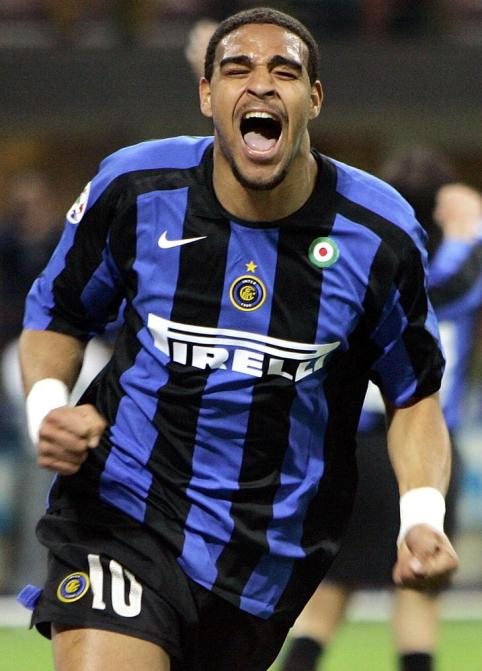Adriano during his halcyon days at Inter Milan.