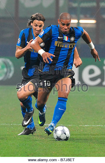zlatan-ibrahimovic-and-adrianomilano-01-10-2008champions-league-20082009inter-b7j8et