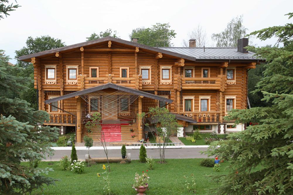 """Huset, Der Er Bygget I En Moderne """"Russisk Stil"""". Moskva"""