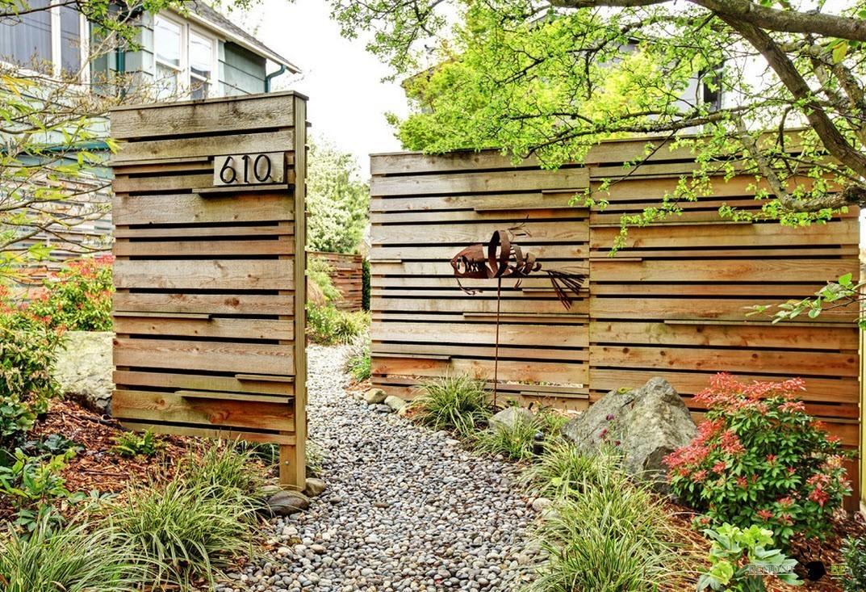 Het bouwen van een mooi hek   samstroi   bouw, design, architectuur.