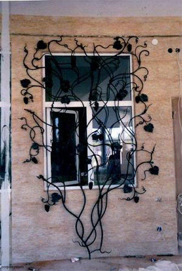 Wundervoll Metall-Gitter für Fenster - СамСтрой - Bau, Design, Architektur. FK56