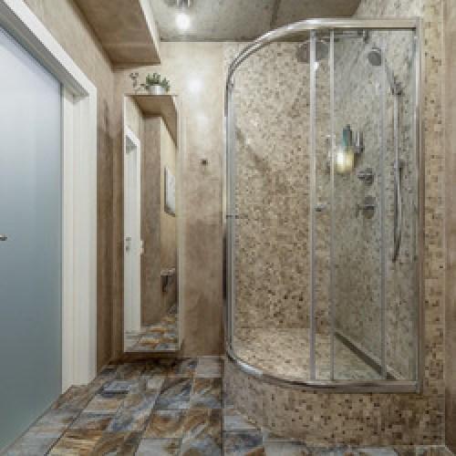 Bachelor Loft Cemstroy - Byggeri, Design, Arkitektur. Design Badevrelse Med Natursten