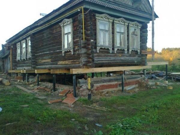 Ремонт старого дома своими руками с фото 598
