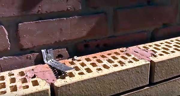Как правильно класть облицовочный кирпич под расшивку 4 43 Строительный портал