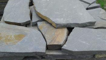 Натуральный камень песчаник Синяк пластушка природный